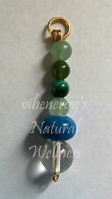 Biomagnetic Research PROSPERITY EMF Pendant w/ Crystal Catalyst Bead - FREE SHIP