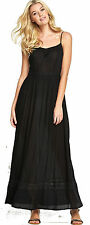 South Embroidered Crinkle Maxi Dress