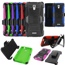 Phone Case For Straight Talk Alcatel OneTouch Pixi Charm LTE Holster Cover Stand