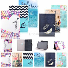 Hot MM Design Wallet Flip Leather Case Cover For Samsung Galaxy Tab 3 4 E A S S2