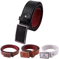 New Luxury Mens Casual Waistband Leather Automatic Buckle Belt Waist Strap Belts