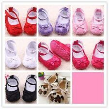 Infant Girl Baby shoes Toddler Mary Jane Soft Sole Newborn Anti-slip PreWalker