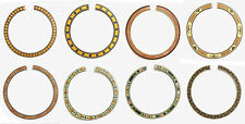 Acoustic Guitar Maple Wood Inlay Rosette 1 Piece, ROS432~441
