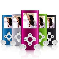 "8GB Mini Slim Digital MP3 MP4 Player 1.8"" LCD Screen FM Radio Video Games Movie"