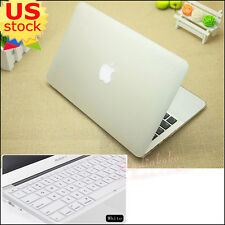 "2in1 Clear Matte Cut-out Hard Case Cover  for MacBook Pro 13"" Retina Air 11""/13"""