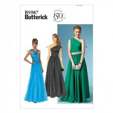 Butterick Ladies Easy Sewing Pattern 5987 Evening Dresses (Butterick-5987-M)