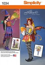 Simplicity Ladies Sewing Pattern 1034 Fancy Dress Costumes (Simplicity-1034-M)