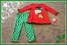 Good Lad Snowman Set Outfit Size 12 24 Months 12M 24M Baby Girls NWT Christmas