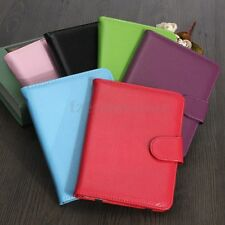 Ultra Thin PU Leather Slim Case Cover Protetion For Amazon Kindle Touch Fashion