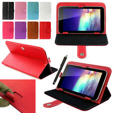 "Magic Leather Protective Case Cover +Stylus For RCA 7"" 7 Inch Android Tablet PC"