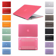 Rubberized Hard Case Cover &Carrying Sleeve Bag For Apple Macbook Air Pro Retina