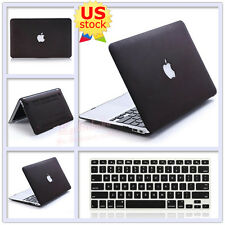 """2in1 Quicksand Brown Matte Hard Case+Keyboard Cover for MacBook Air Pro 11"""" 13"""""""