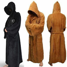 Star Wars Hooded Bath Robe Imperial Jedi Sith Jedi Cape Cloak Cosplay Bathrobe