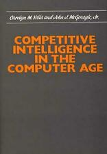 NEW Competitive Intelligence in the Computer Age by John J. McGonagle Hardcover