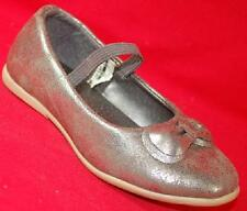 Girls Toddler CARTER'S BETTY2 Silver/Gray Slip On Mary Janes Dress Shoes NEW