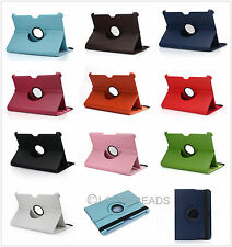 "For 10.1"" Samsung Galaxy Tab P7510/P7500 360 Rotating Leather Case Cover Stand E"