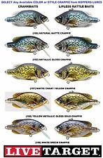 Koppers Live Target Crappie Crankbaits Lipless Rattle Traps Any CPV CPF Color