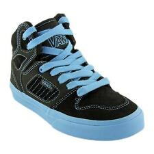 NEW Boy's Youth's VANS ALLRED Black/Blue Athletic Sneakers Skate Fashion Shoes