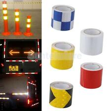 "3M GLOSS SELF ADHESIVE REFLECTIVE TAPE 2"" WIDE SAFETY FILM STICKER ROLL STRIP"