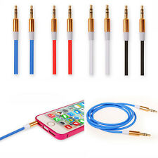Car MP3 Phone Universal 3.5mm Male to Male Aux Auxiliary Cord Stereo Audio Cable
