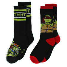 Nickelodeon TMNT Ninja Turtles Boys 2 pk Crew Socks 4143QD