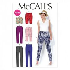 McCalls Ladies Sewing Pattern 7098 Shorts & Trouser Pants in 6 Styles (Mc...