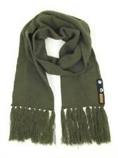 O'Neill Knit Scarf Scarf Button olive green Fringes knitted NEW