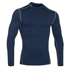 UNDER ARMOUR COLD GEAR COMPRESSION MOCK MEN'S SHIRT LONG SLEEVE 1265648-410