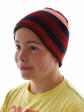 Brunotti Beanie Hat Winter hat Kulas red striped Fleece