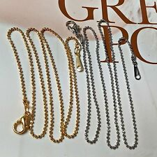 5 x silver or gold plated ball chain Jewellery Making Finding Supplies 40cm
