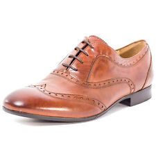 H by Hudson Francis Mens Leather Tan Brogues