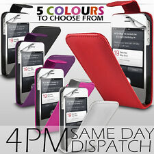 LEATHER FLIP CASE COVER & SCREEN PROTECTOR FOR APPLE IPHONE 4 / 4S