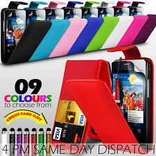 LEATHER CASE WITH CARD SLOT & MINI STYLUS PEN FOR SAMSUNG I9100 GALAXY S II