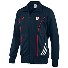 adidas England World Cup WC 2010 Style Soccer Track Jacket Brand New Navy Blue