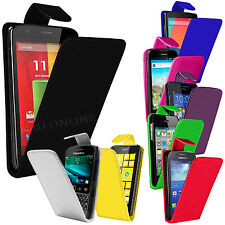 Premium PU Leather Flip Case Cover Pouch For Various HTC Mobile Phones