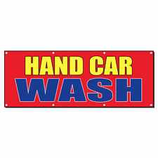 Hand Car Wash Car Body Shop Repair Business Vinyl Banner Sign With Grommets
