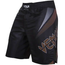 Venum No Gi MMA Fight Shorts - Black/Brown