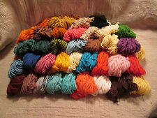 Vintage Grant Crest Heavy Rug Yarn - 35 Different Colors - rayon/cotton