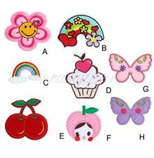 Various Patterns Embroidered Iron On Patch Sew Motif 1PC Applique Accessories