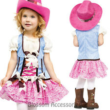 CK623 Rodeo Sweetie Cowgirl Western Wild West Cowboy Indian Fancy Dress Costume