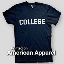 COLLEGE Animal House John Belushi Cult Comedy Frat AMERICAN APPAREL T-Shirt