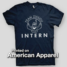 TEAM ZISSOU INTERN Life Aquatic Anderson Bill Murray AMERICAN APPAREL T-Shirt