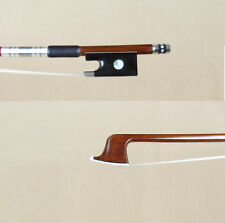 Master performance Pernambuco Violin Bow silver Fittings Ebony frog sound good