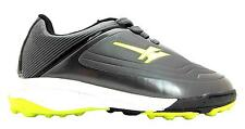 Gola Shoot Boy's Grey/slime Lace Up Astroturf Football Style Trainers New