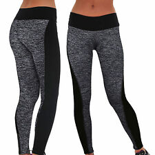 Womens Sport Yoga Running Pants Fitness Gym Leggings Sexy High Waist Trousers