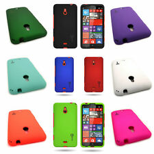Plastic Phone Cover for Nokia Lumia 1320 - Hard Rubber Snap On Phone Case