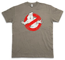 VINTAGE GHOSTBUSTERS LOGO T-Shirt - The Real GHOSTBUSTERS Movie Slimer T Shirt