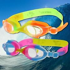 Adjustable Waterproof Anti-fog Eyewear Swimming Goggles Glasses for Kids Child