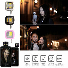 Portable Mini 16 LED Flash Light Selfie Nite Photo For iPhone IOS Android Phone