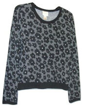 Self Esteem Floral Print Sweatshirt Juniors` Size XL New Msrp $34